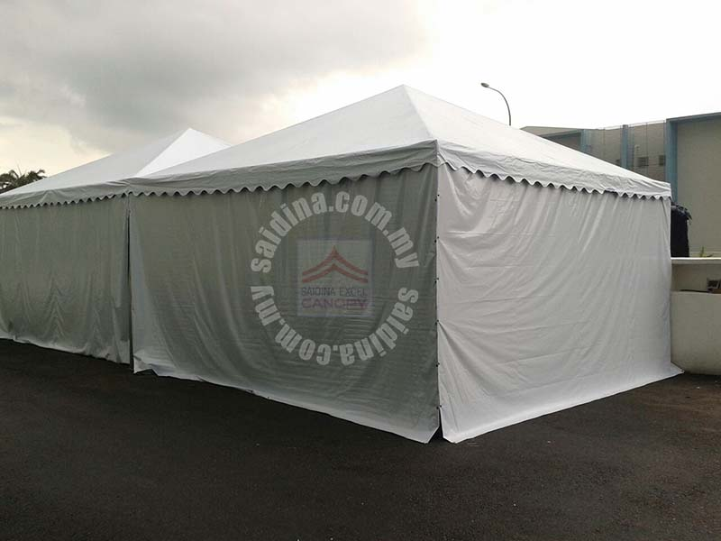 Sidewall Canvas Photo Gallery Canopy And Tent Supplier