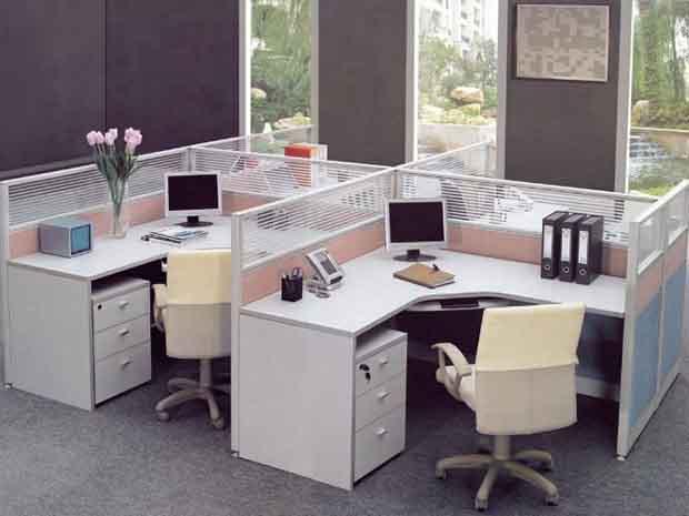 Parion Pejabat Pakej Jualan Set Parabot Ruang Kerja Office Workstation Furniture
